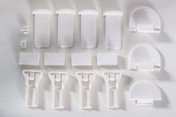 Montage-Set für Klemmfix Doppelplissee Prato von K-Home