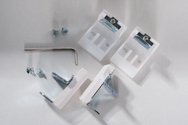 Montage-Set für Klemmfix Alujalousie von K-Home