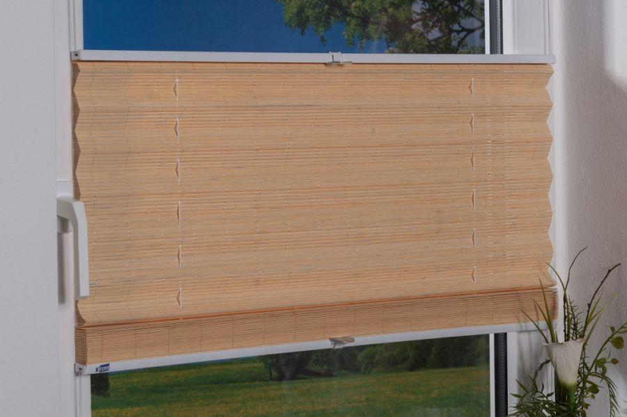 Bambus Klemmfix-Plissee