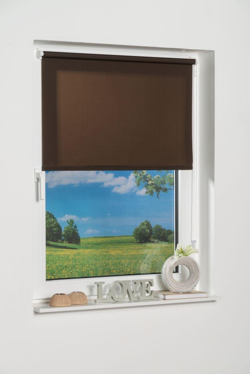 Klemmfix-Seitenzugrollo, Lichtschutz, Rollo ohne Bohren