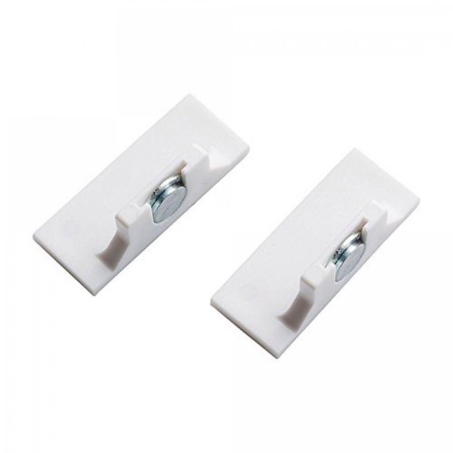 Magnethalter für Jalousien als Pendelsicherung, K-Home  (2er Pack)