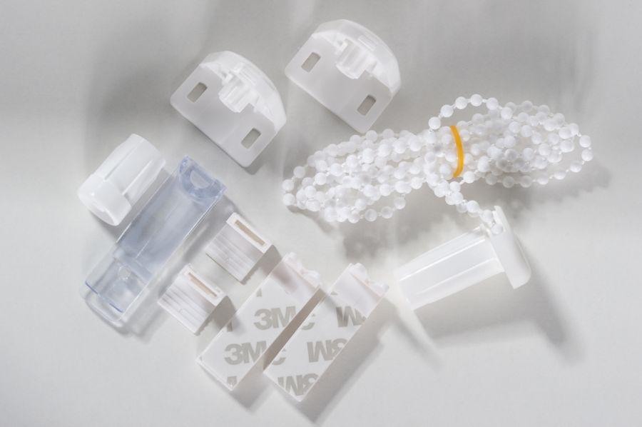 Montage-Set für Klemmfix Minirollo von K-Home